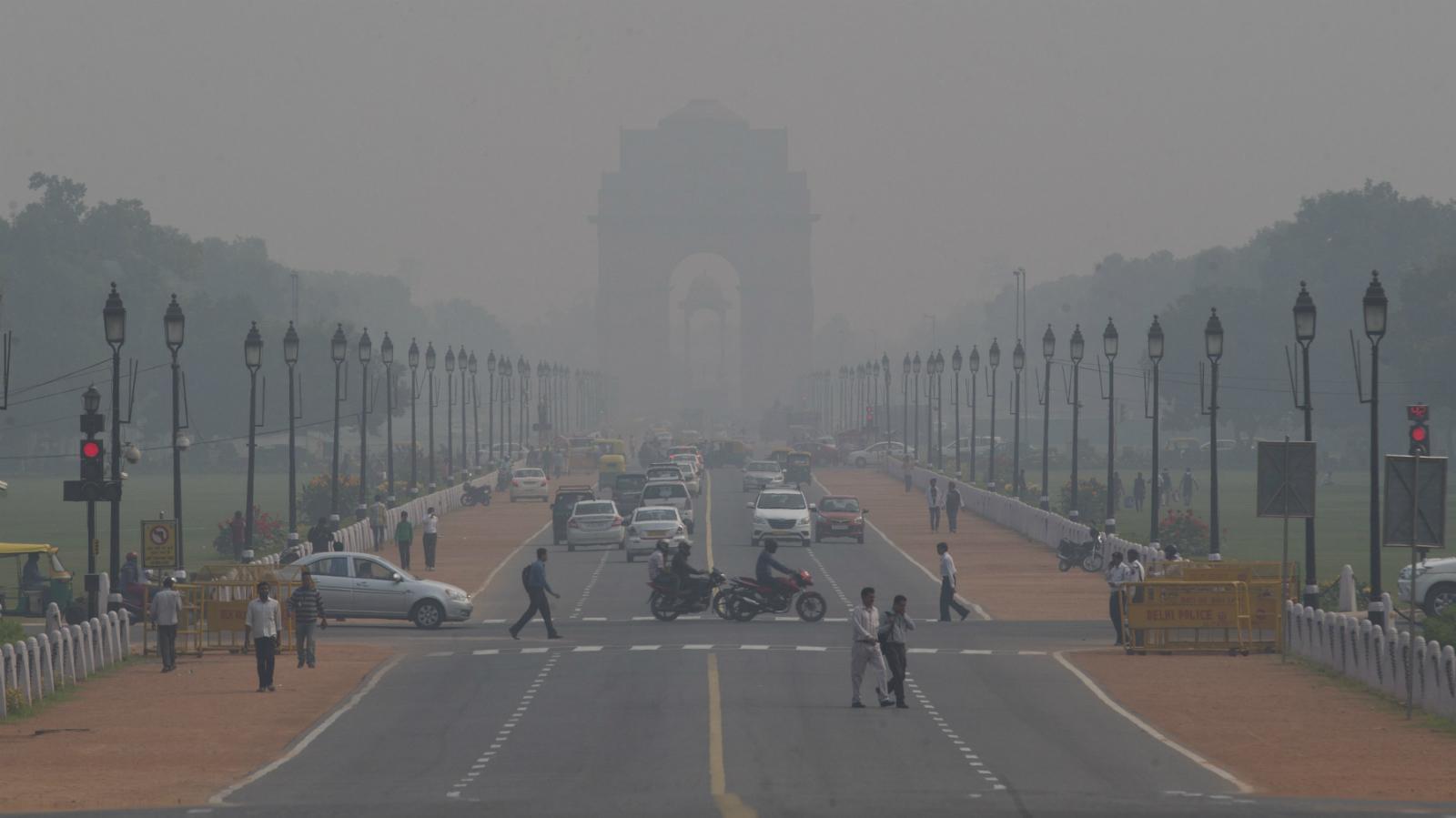 India-Pollution-Environment-New Delhi-Congestion