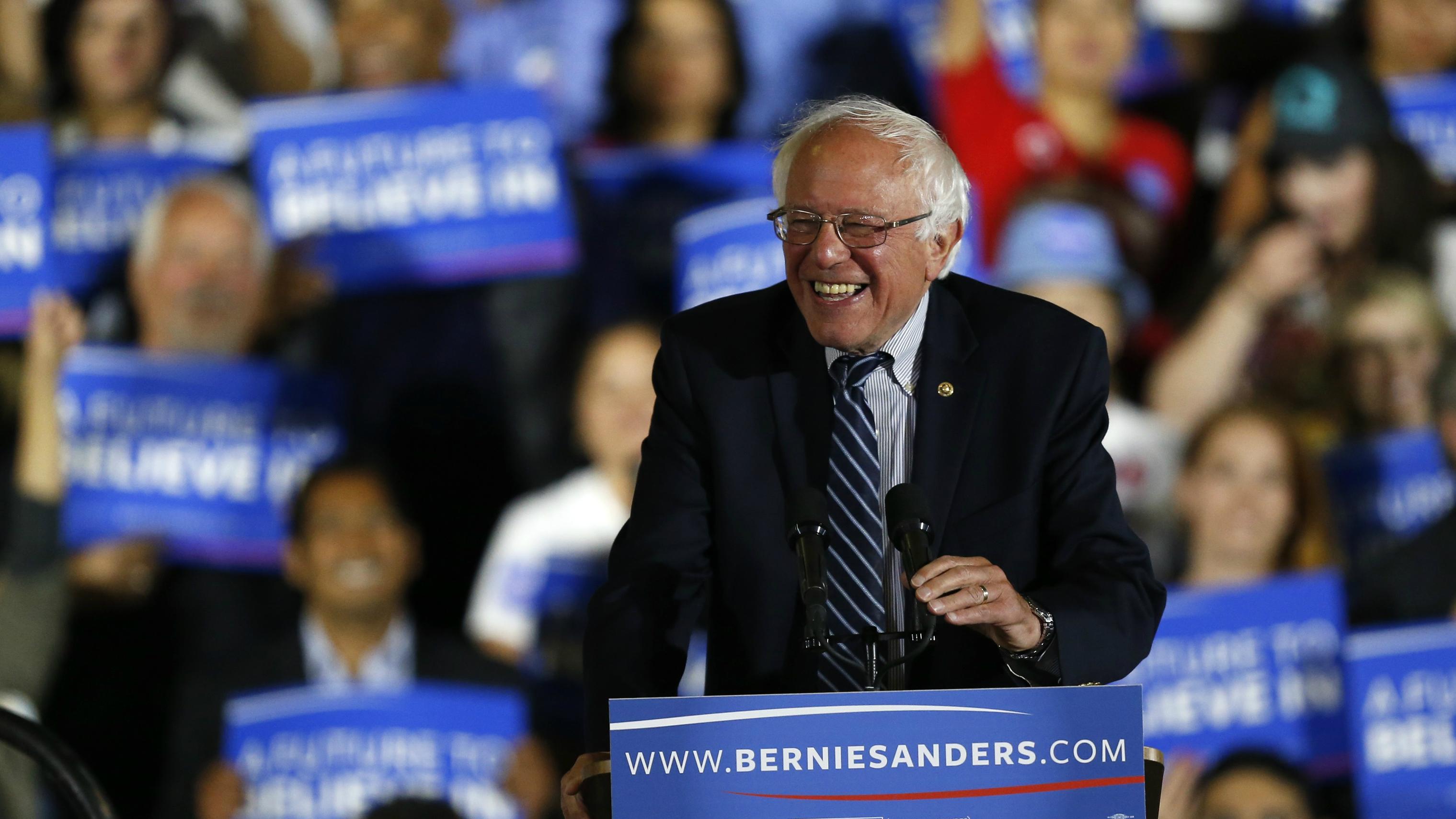 Bernie Sanders Reuters Mario Anzuoni