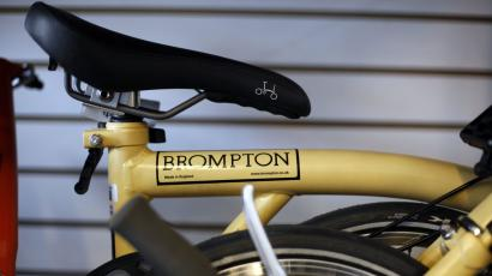 Brompton sadle