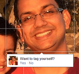 facebook tag prompt