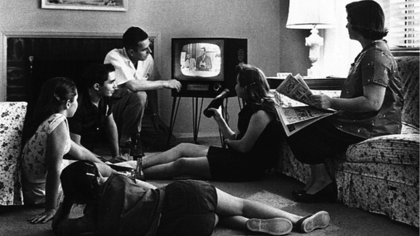 who invented television first