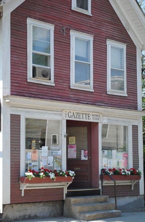 newspaper office