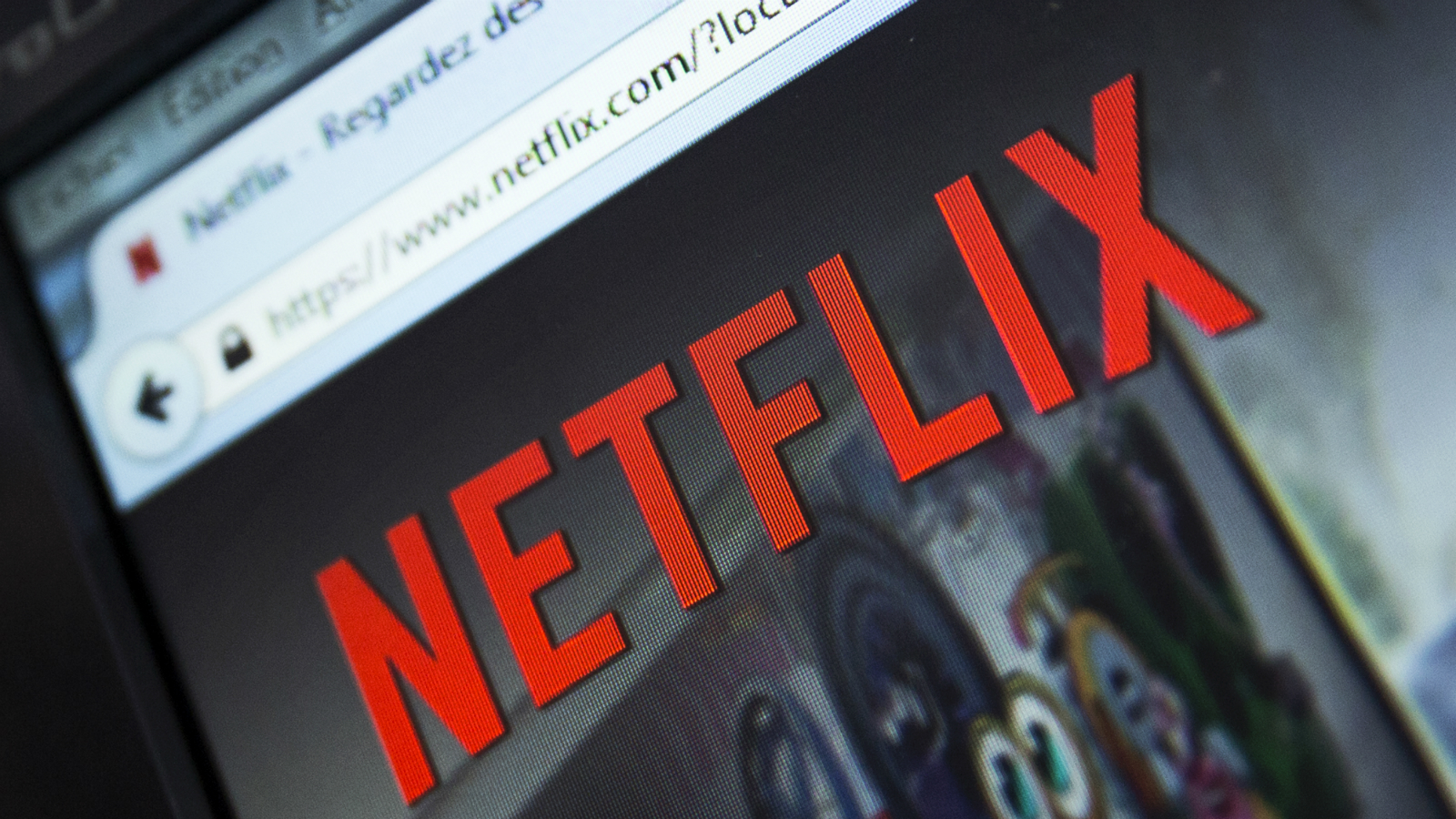 A file picture dated 15 September 214 of the French Netflix webpage displayed on a computer screen in Paris, France. Video streamer Netflix on 06 January 2016 went live around the world, adding 130 new countries to its service and launching what Netflix chief executive Reed Hastings called a 'global internet TV network.' The announcement more than triples the number of countries where Netflix is available, from 60 to 190, including the potentially huge markets of India, Russia and South Korea.