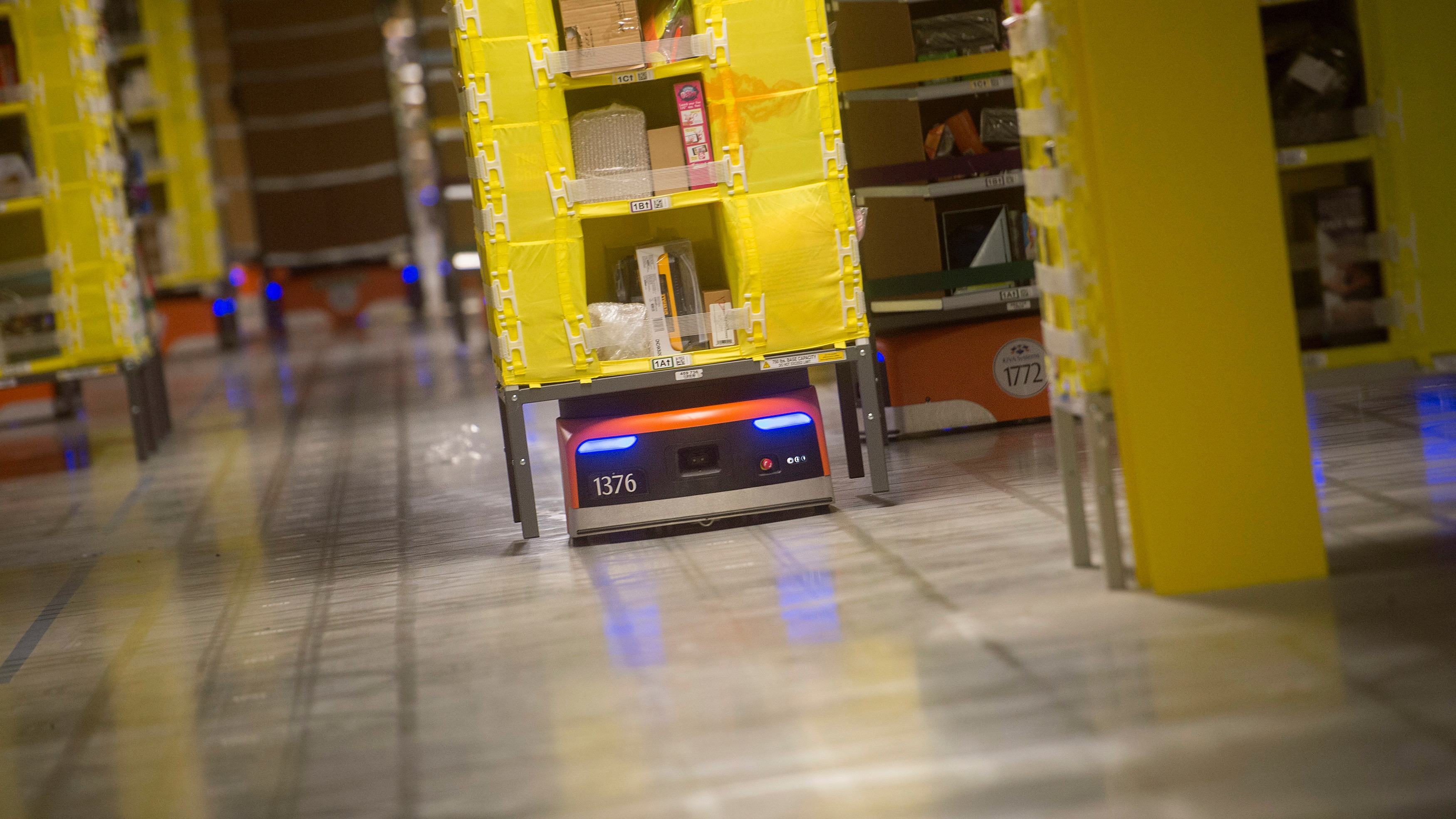 Google (GOOG) seems to be working on warehouse robots like
