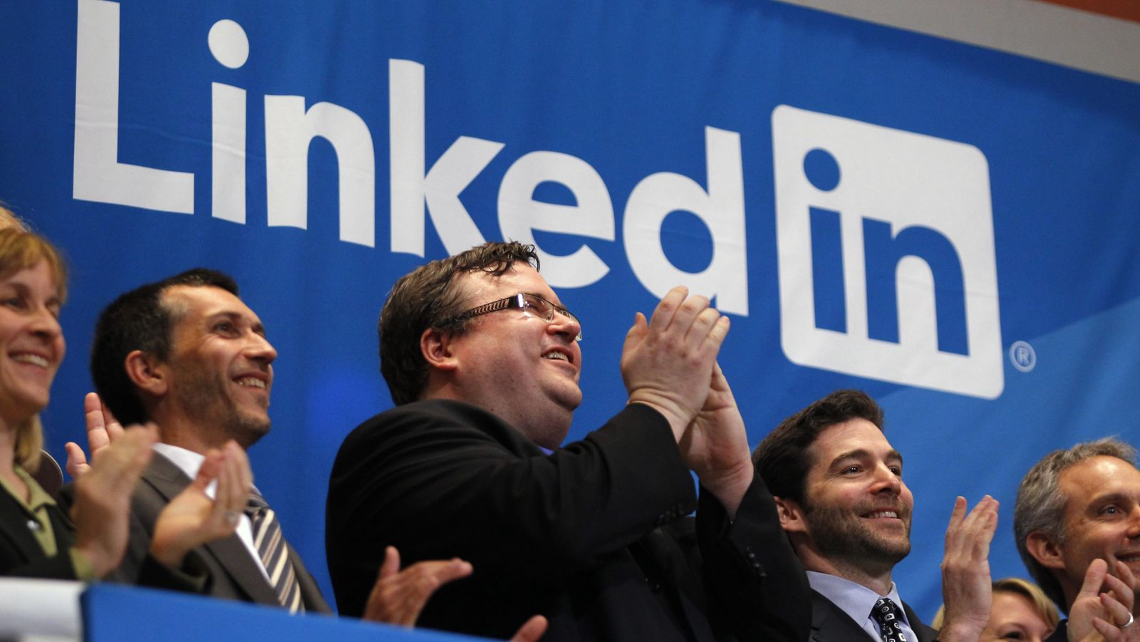 LinkedIn doesn't have to make sense to us. It just is.
