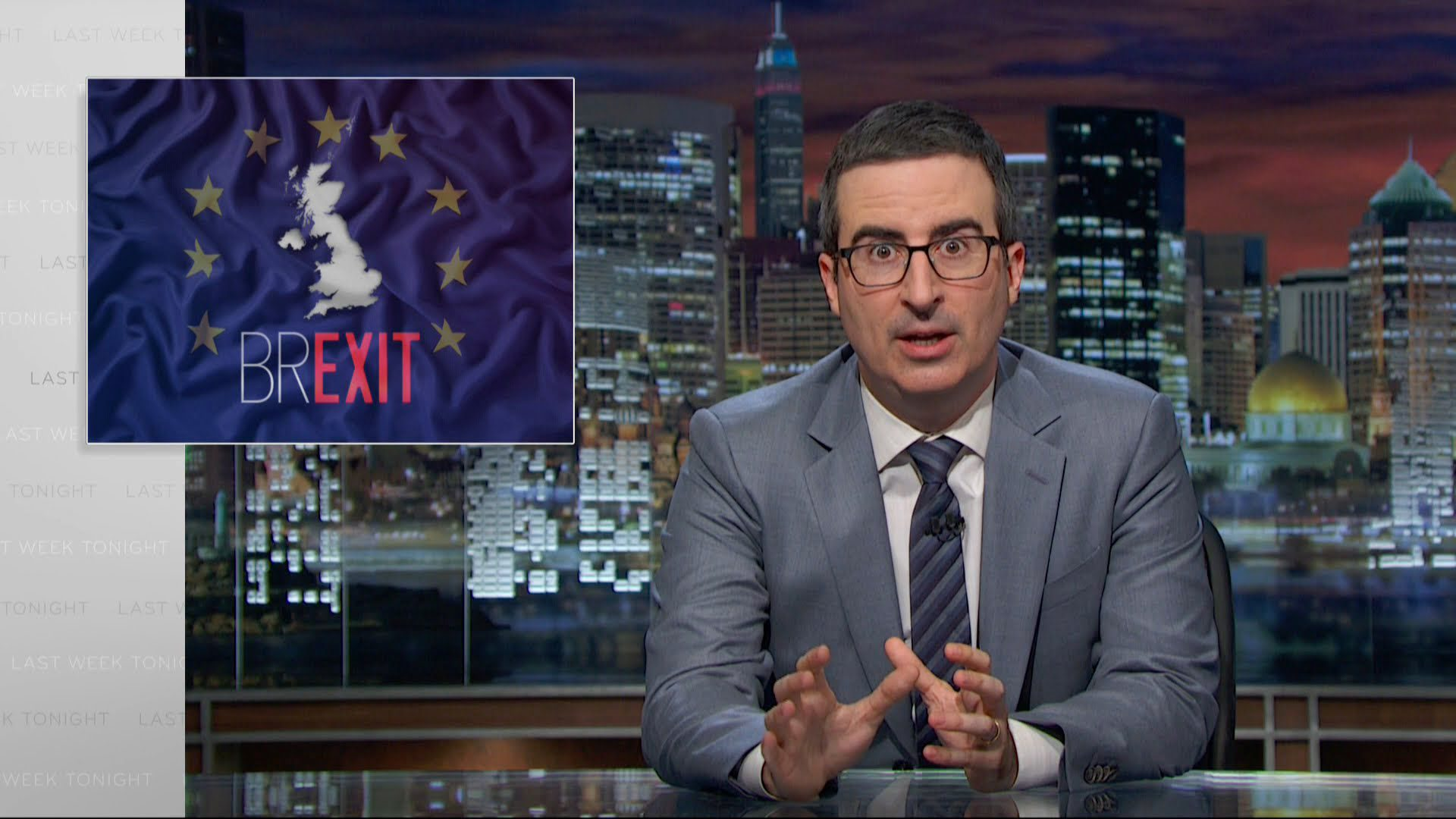 Last Week Tonight on Brexit