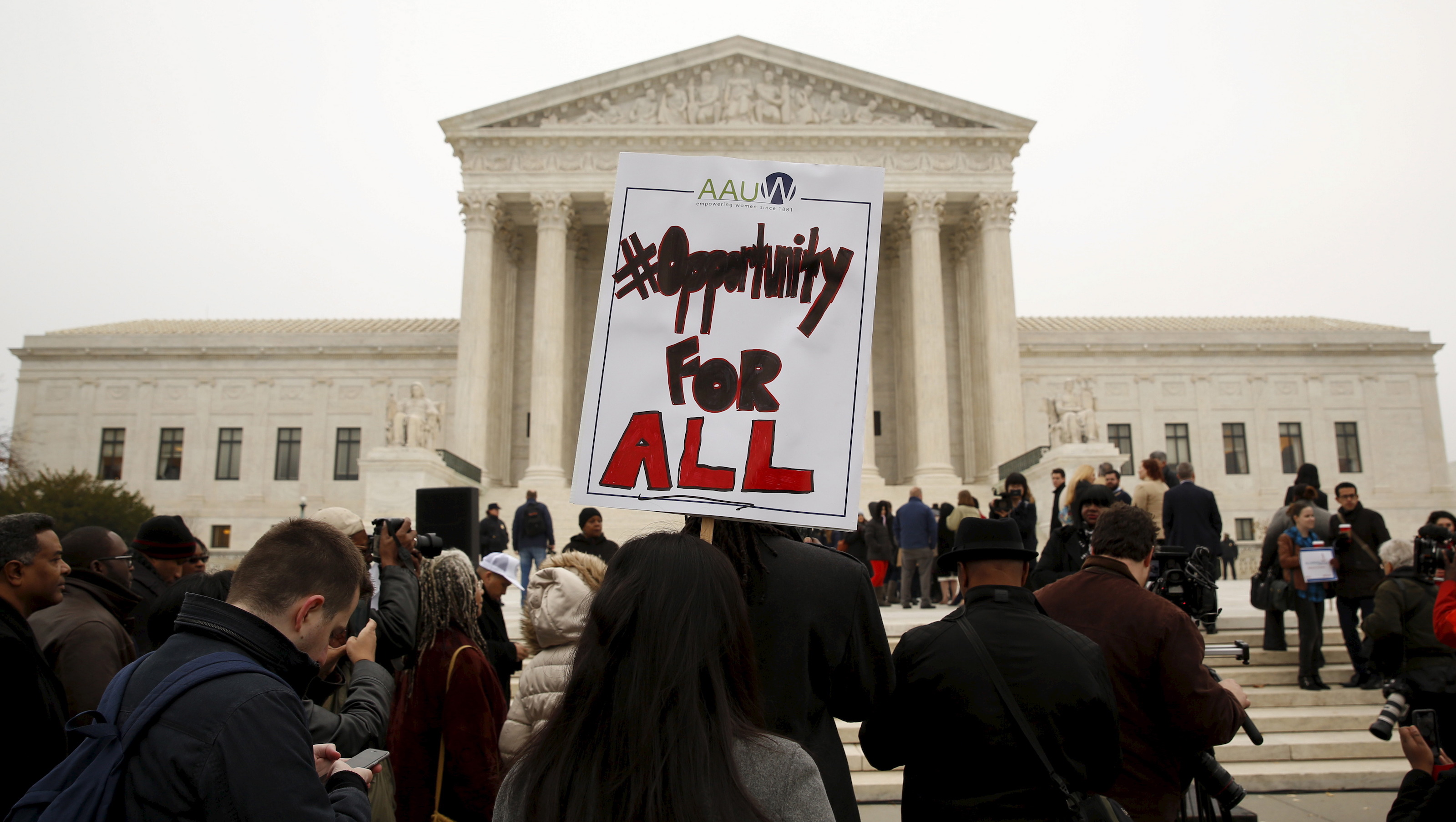 A US Supreme Court ruling upholds the use of affirmative