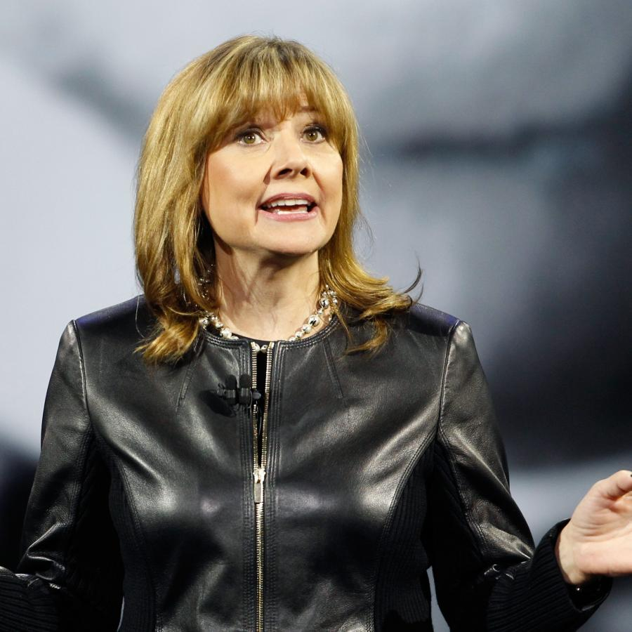 GM CEO Mary Barra developed a two-word dress code for employees