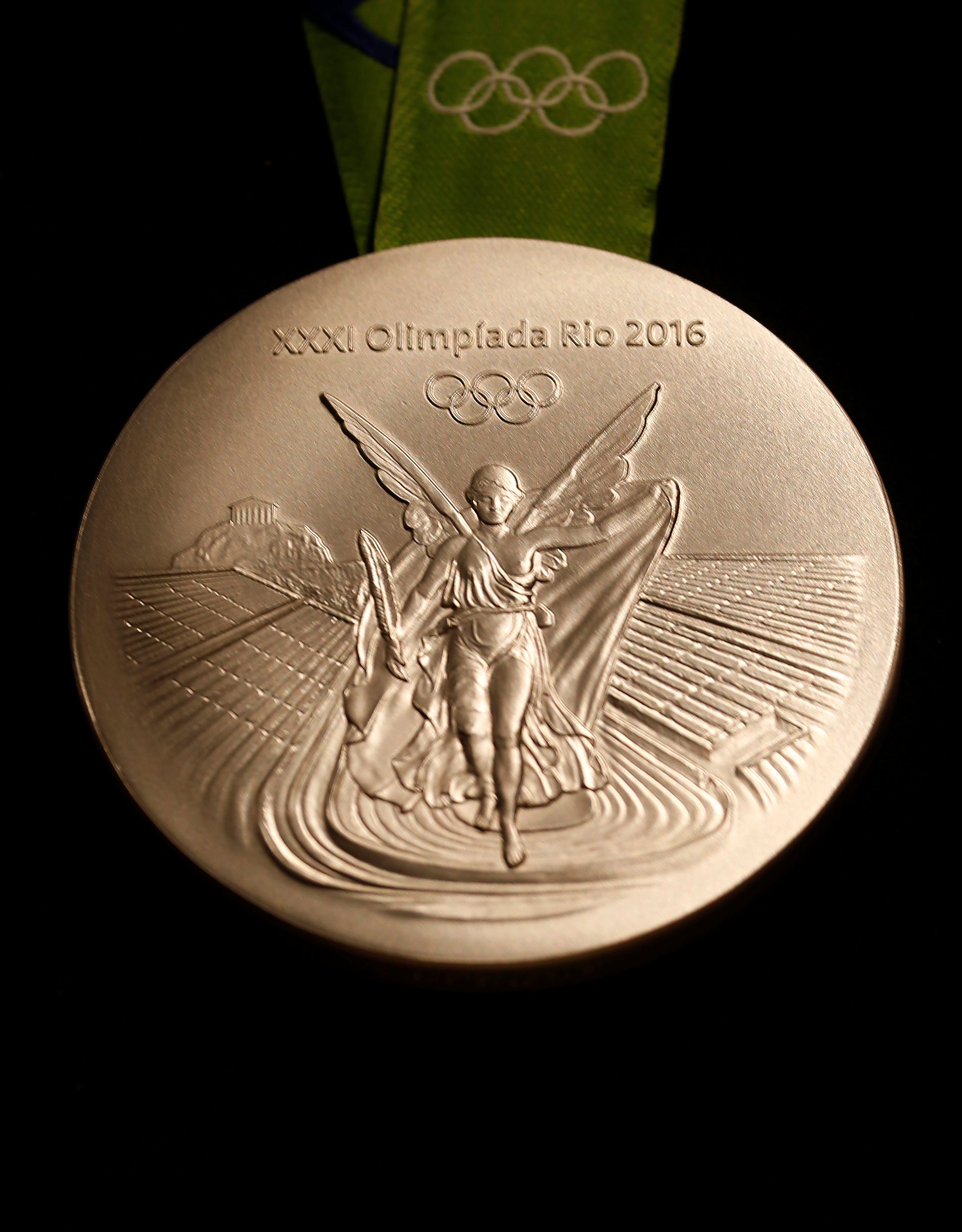 The Rio 2016 Olympic silver medal (Reuters/Sergio Moraes)