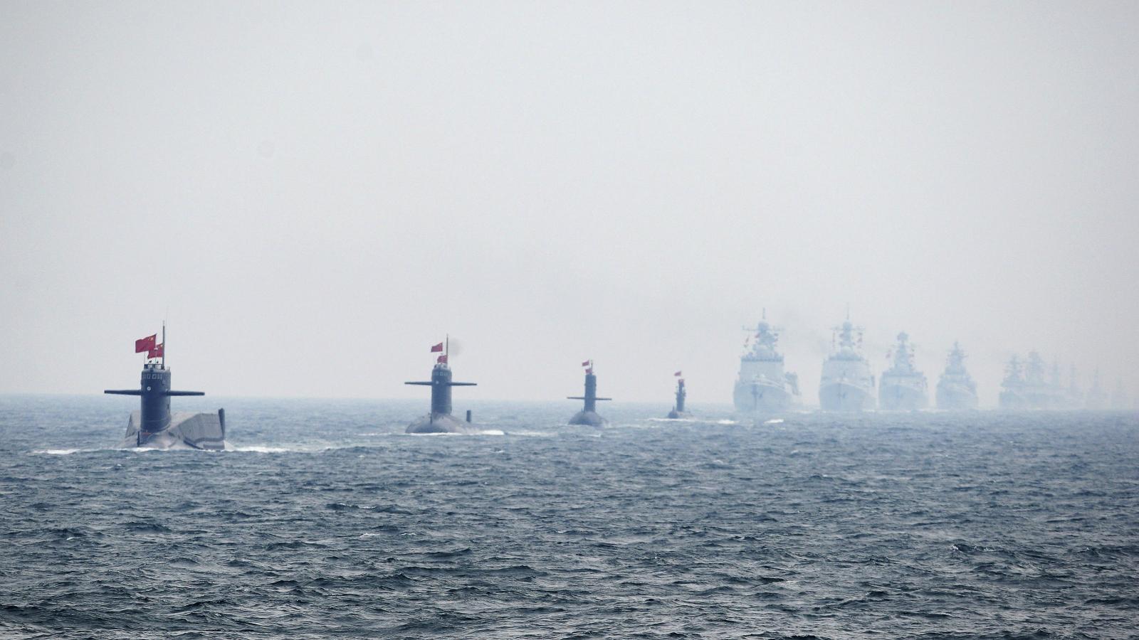India-China-Foreign policy-Diplomacy-Navy-Submarines-Warship