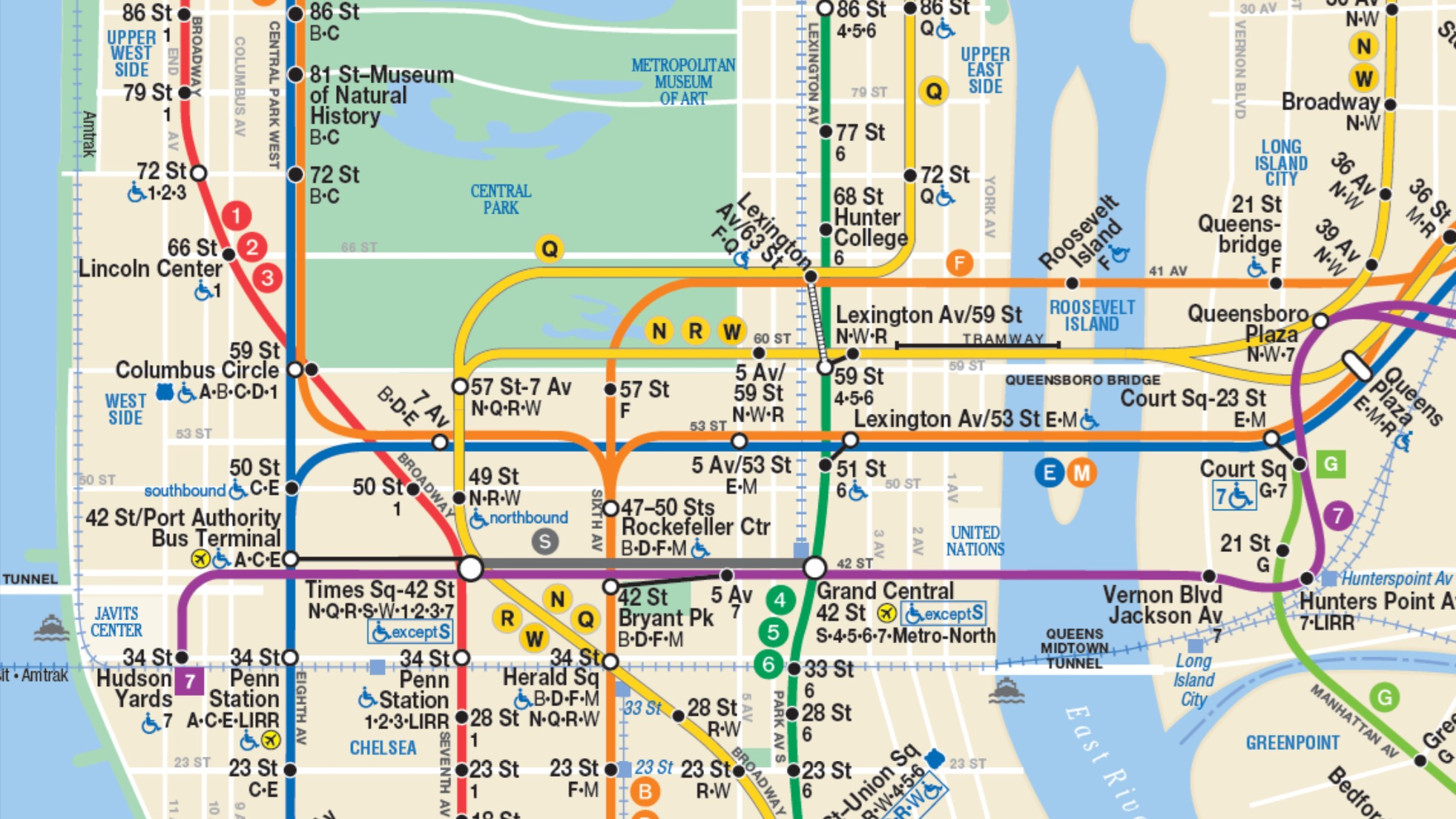 Columbus Circle Subway Map.New Yorkers Can Start Using A Secret Subway Tunnel Under Central
