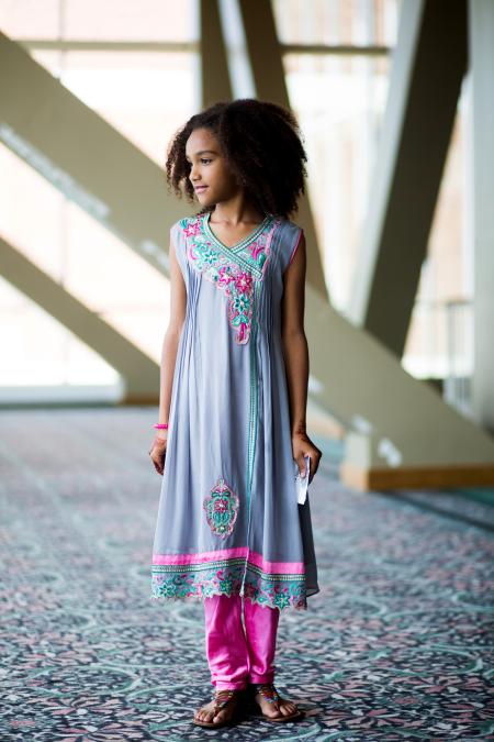 Eid fashion: Photos of exuberant Muslim styles at one of