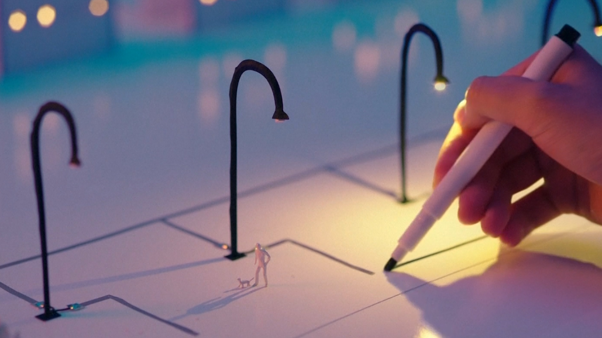 a start up has invented a pen that uses a silver based ink to draw