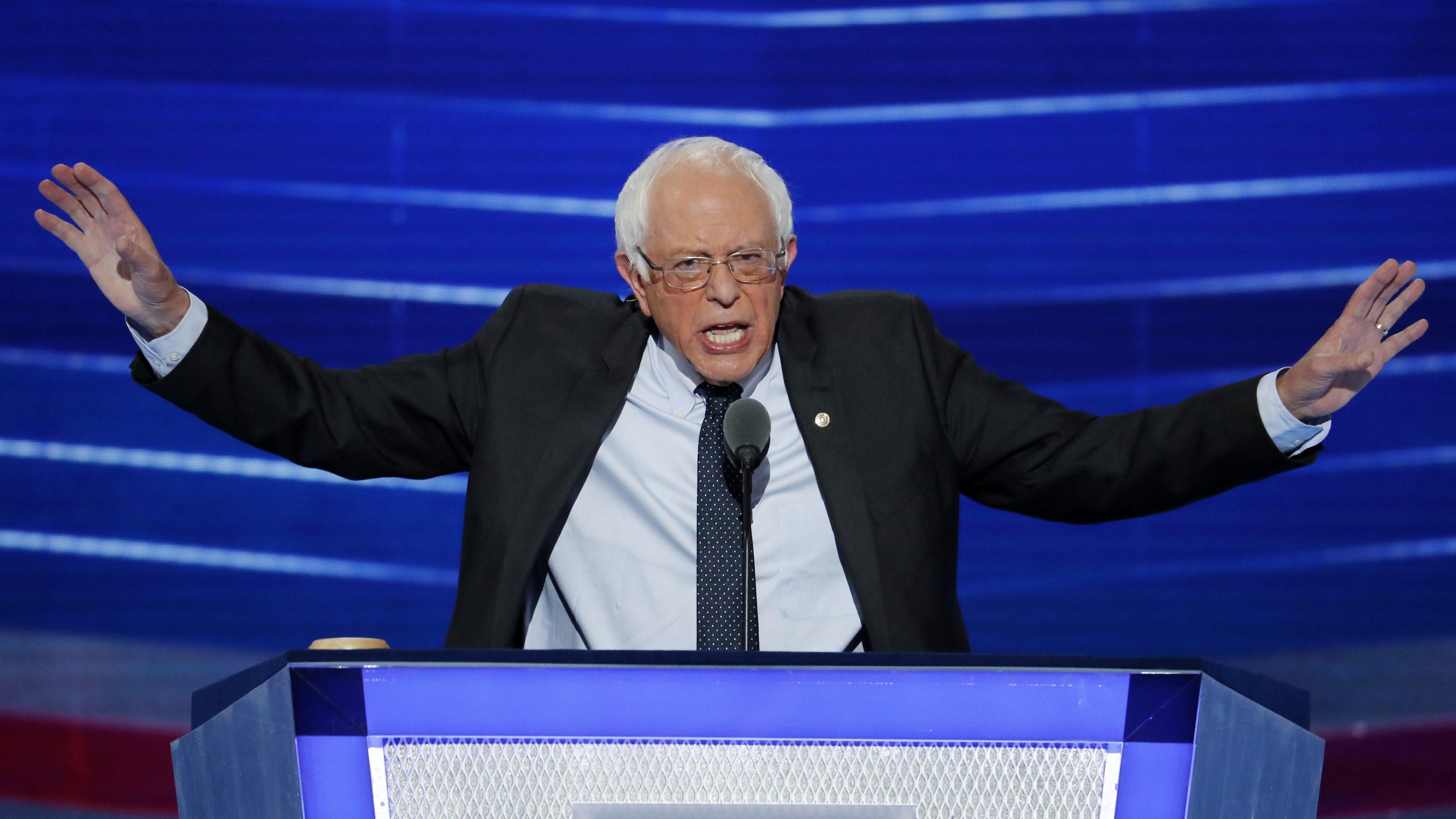 Bernie Sanders at DNC 2016