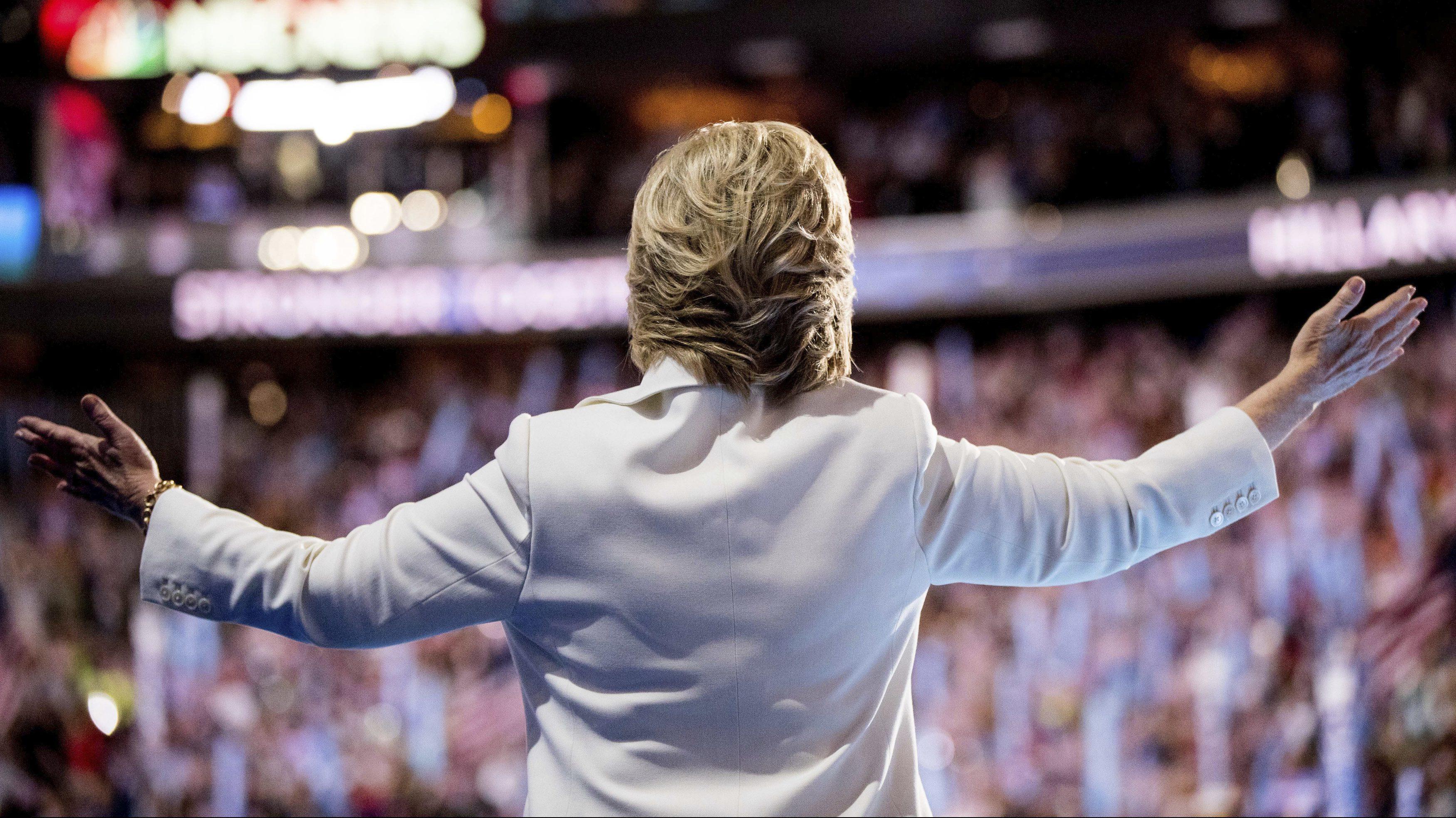 Hillary Clinton at DNC 2016