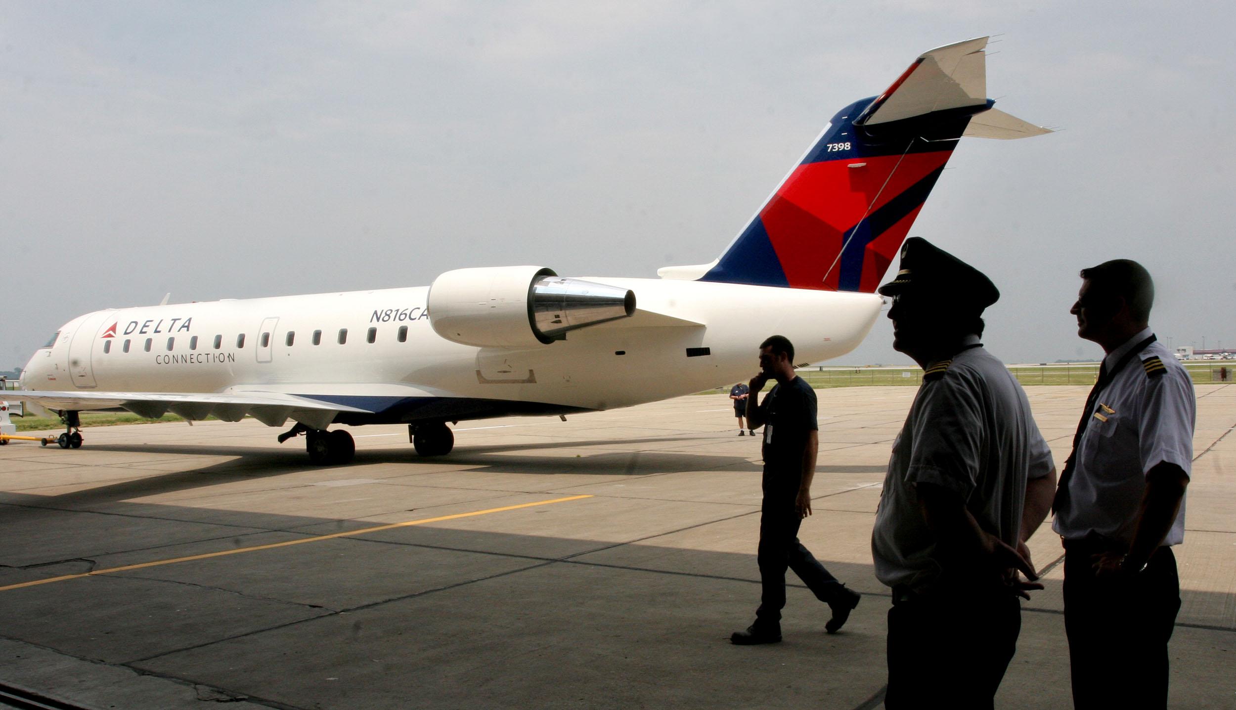 A Delta regional jet
