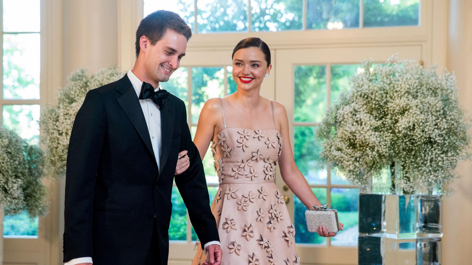 Model Miranda Kerr Announced Her Engagement To Snapchat Ceo Evan