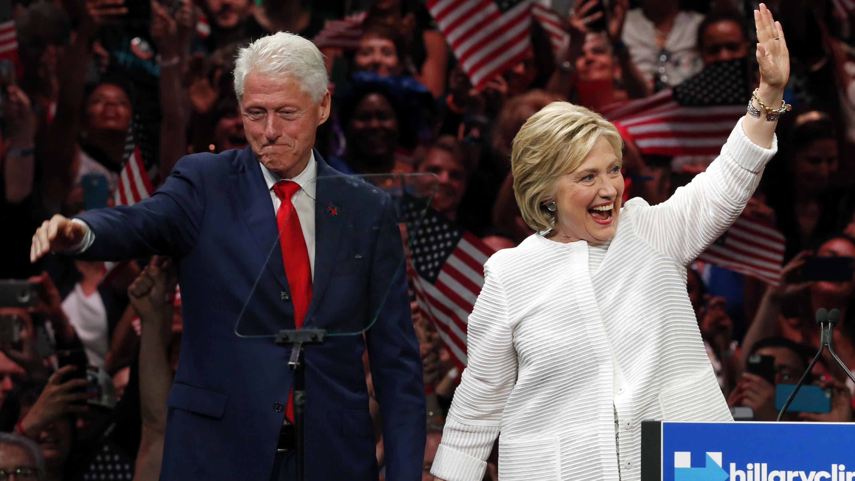 Hillary Clinton,Bill Clinton