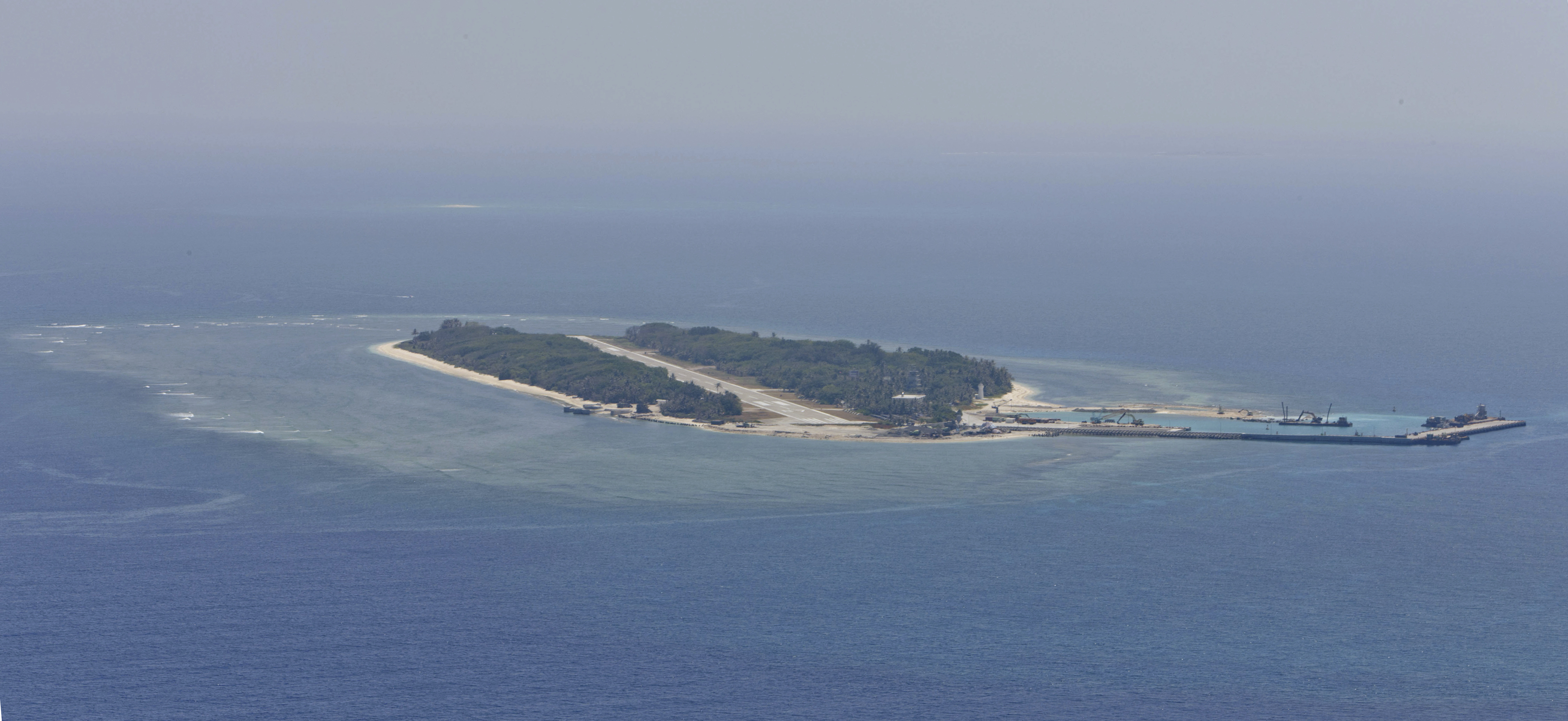 Itu Aba from the air.