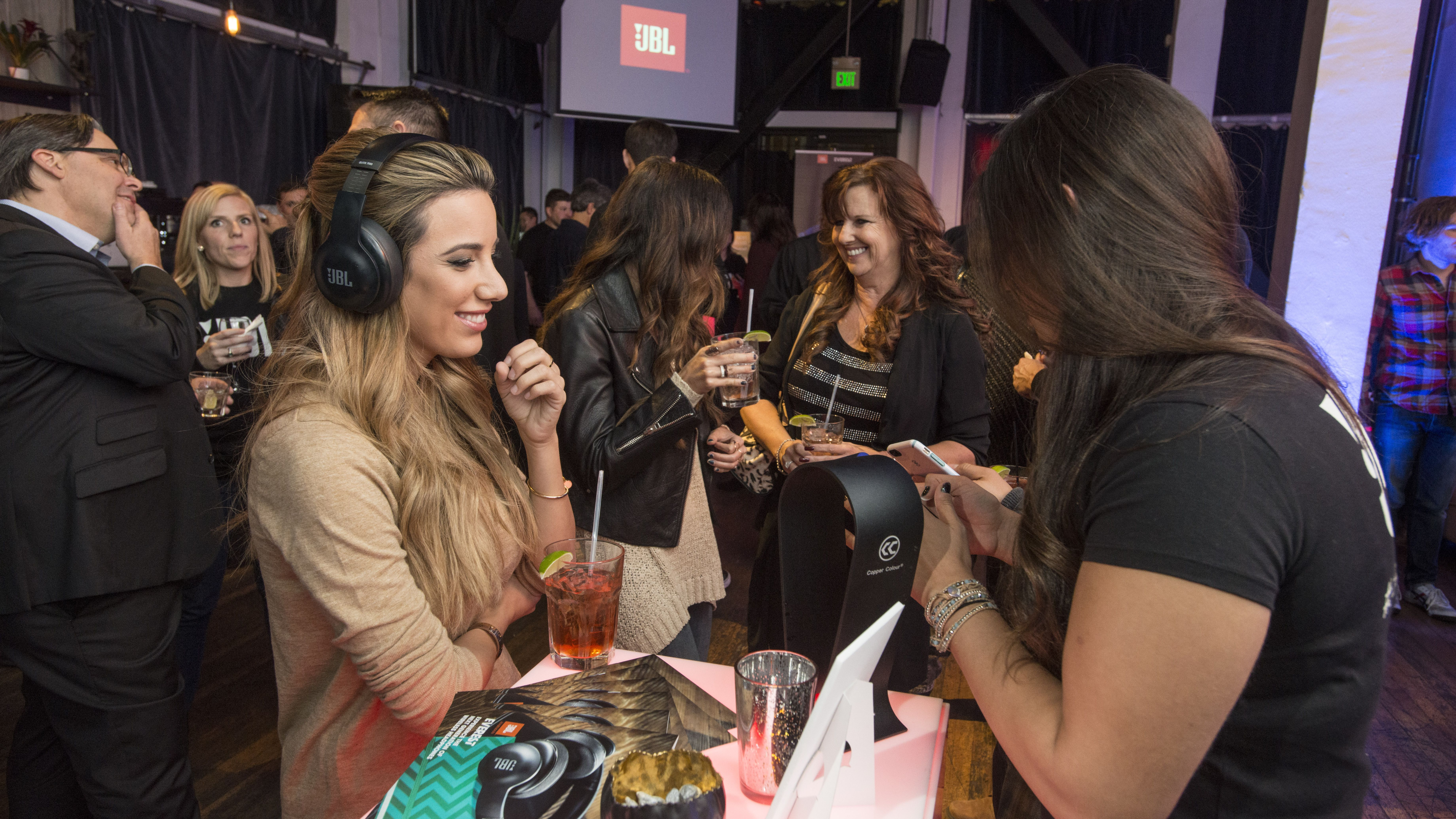 IMAGE DISTRIBUTED FOR JBL - JBL unveils the new JBL Everest™ series, a line of five wireless headphones in San Francisco, Calif., Wednesday, Nov. 11, 2015.