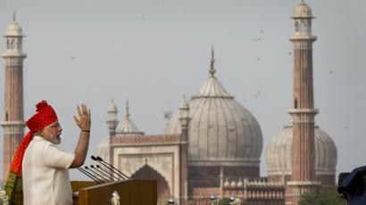Narendra Modi-Independence Day-ISIS-Security threat-Bullet proof