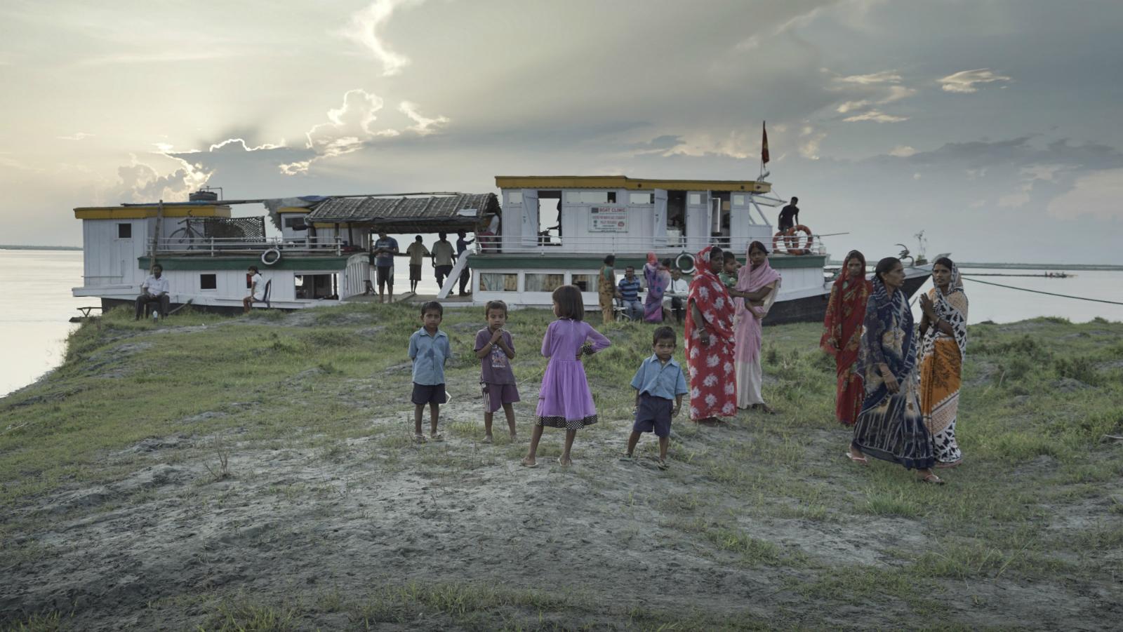 India-Health-Assam-River