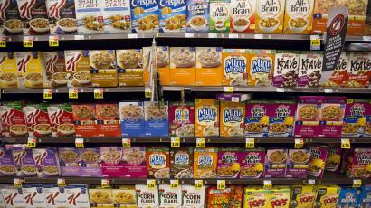 Kellogg K Is Experimenting With Supermarket Placement By