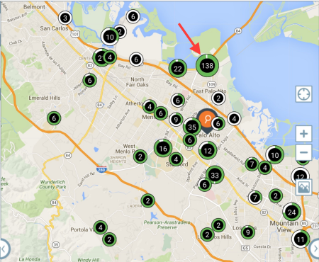 chargepoint map
