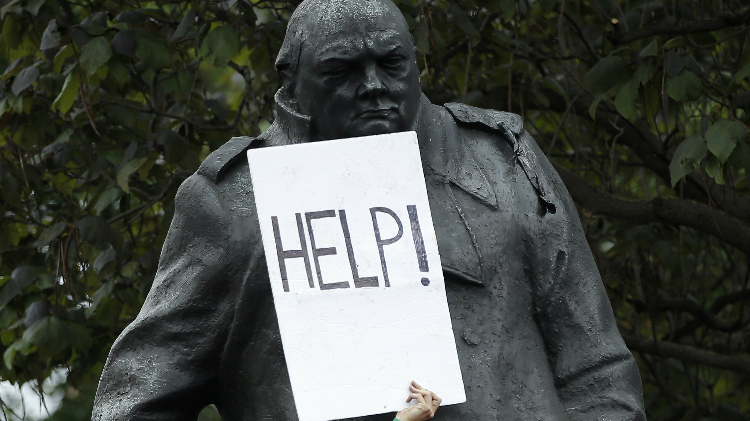 Winston Churchill's direction lives on.