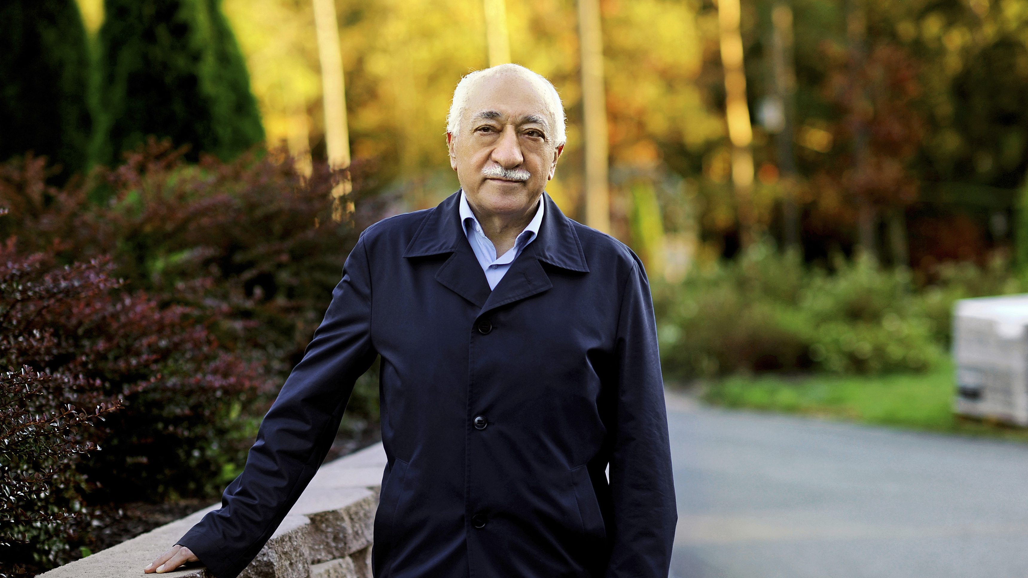 Islamic preacher Fethullah Gulen is pictured at his residence in Saylorsburg, Pennsylvania September 24, 2013. Born in Erzurum, eastern Turkey, Gulen built up his reputation as a Muslim preacher with intense sermons that often moved him to tears. From his base in Izmir, he toured Turkey stressing the need to embrace scientific progress, shun radicalism and build bridges to the West and other faiths. The first Gulen school opened in 1982. In the following decades, the movement became a spectacular success, setting up hundreds of schools that turned out generations of capable graduates, who gravitated to influential jobs in the judiciary, police, media, state bureaucracy and private business. Picture taken September 24, 2013.