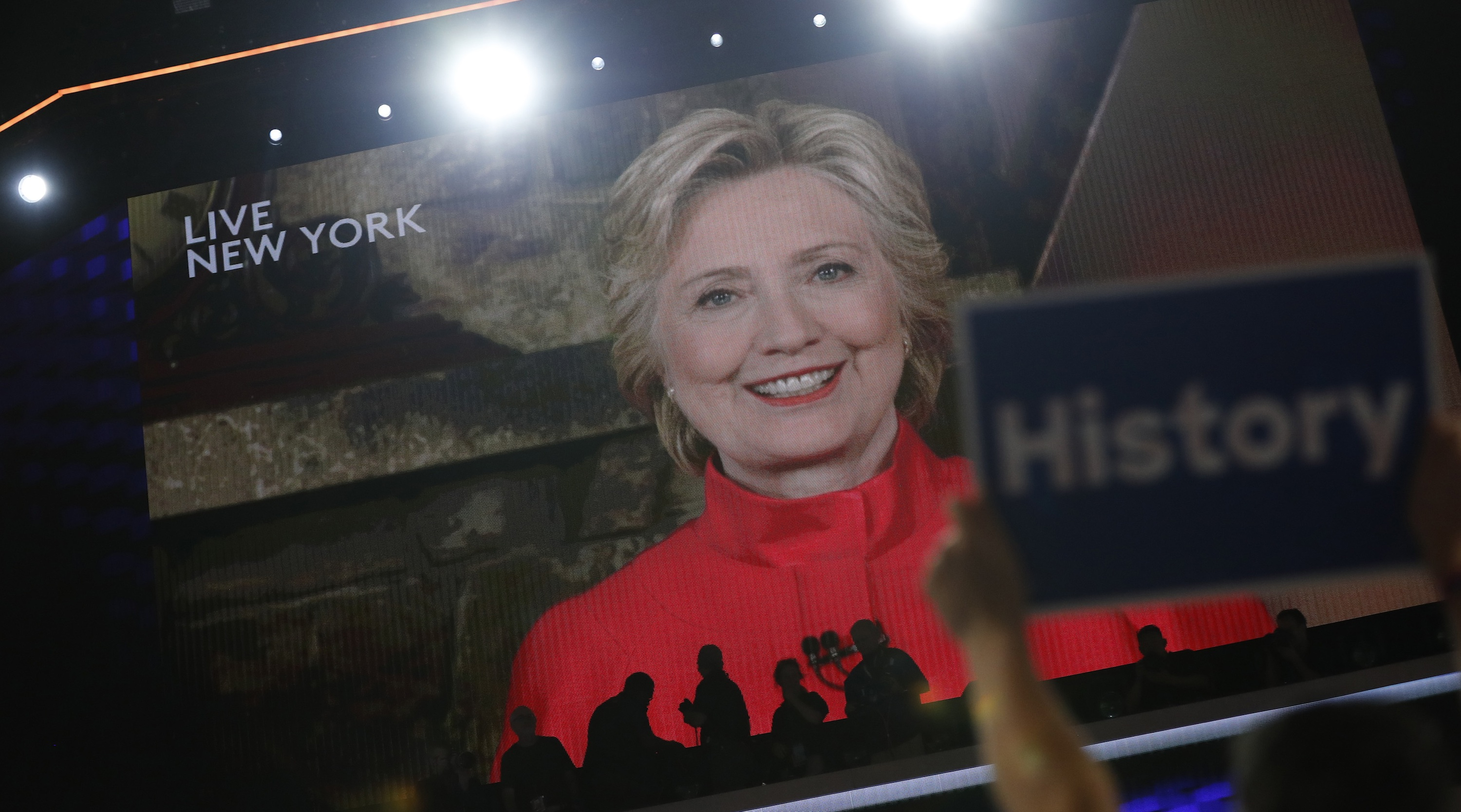 The never-ending reinvention of Hillary Clinton.