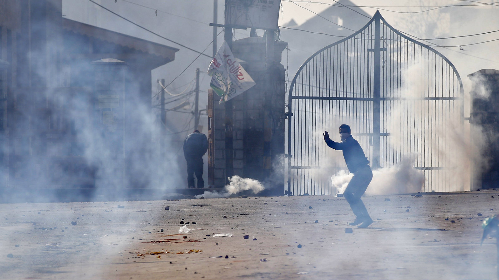 Protesting youths have kept Kashmir on the boil in the past few days.