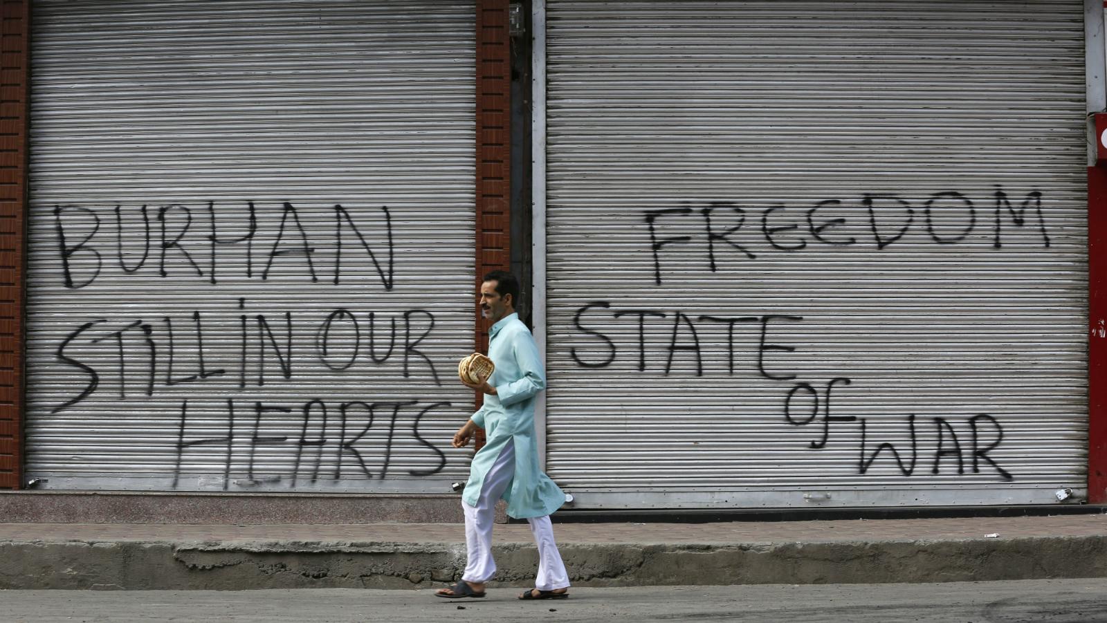 Kashmir-India-Modi-Burhan