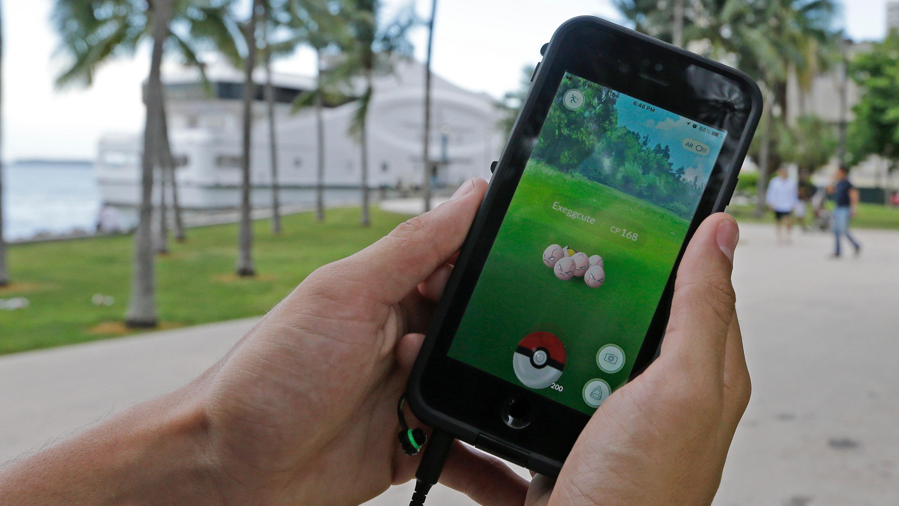 Pokemon go im hintergrund iphone