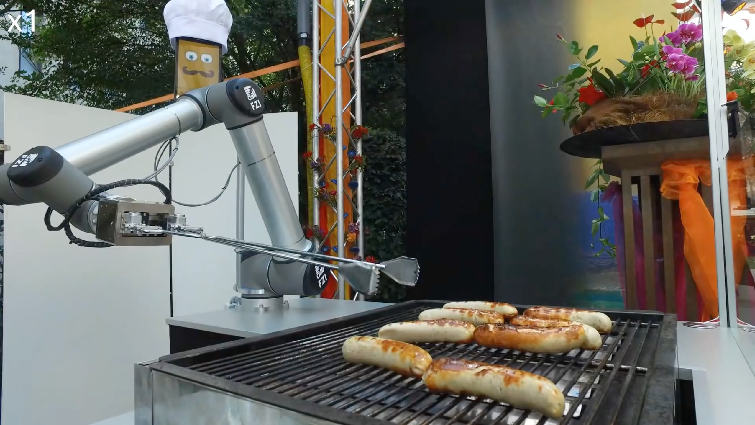 Watch: A German robot grills up sausages with ruthless efficiency ...