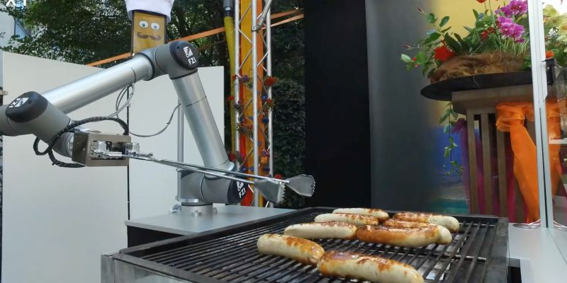 Watch: A German Robot Grills Up Sausages With Ruthless