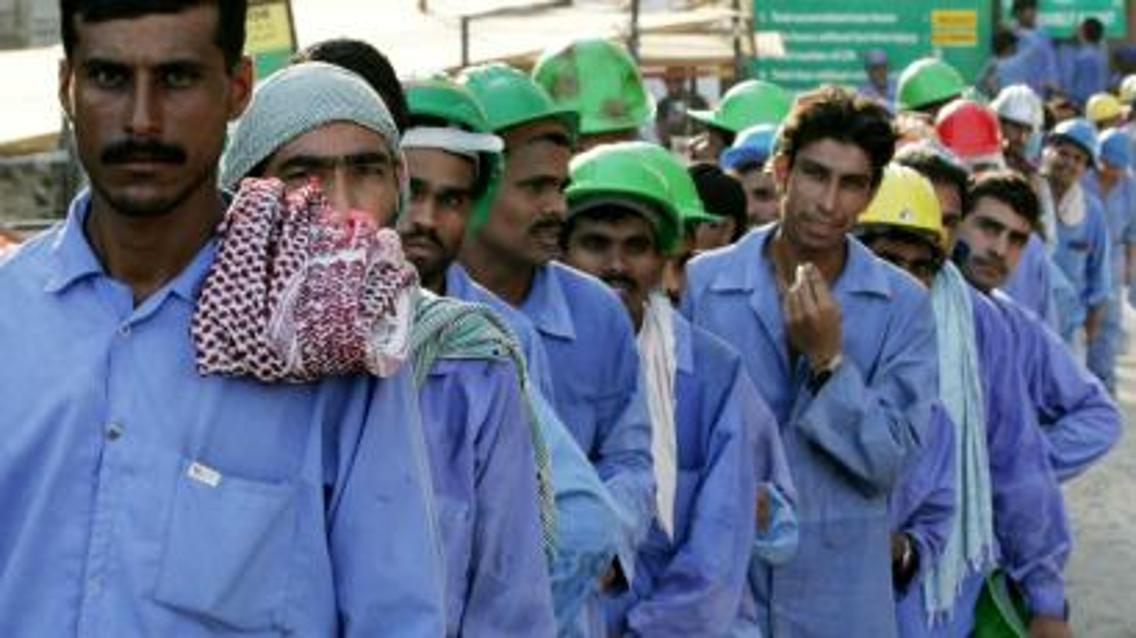 Indian labourer-Saudi Arabia-Kuwait-starvation-Sushma Swaraj