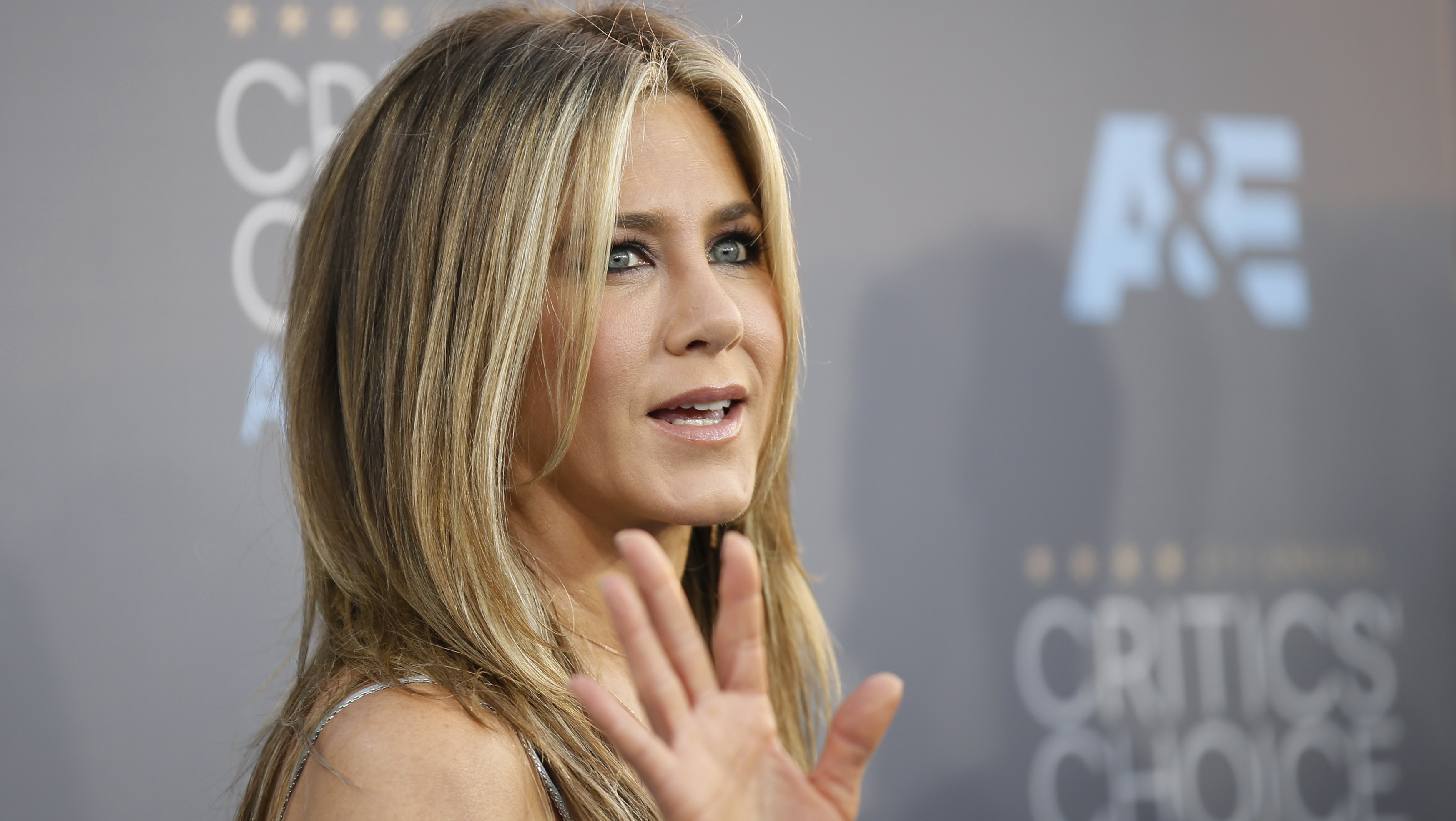 Actress Jennifer Aniston arrives at the 21st Annual Critics' Choice Awards in Santa Monica
