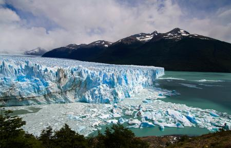 The Perito Moreno Glacier outside El Calafate