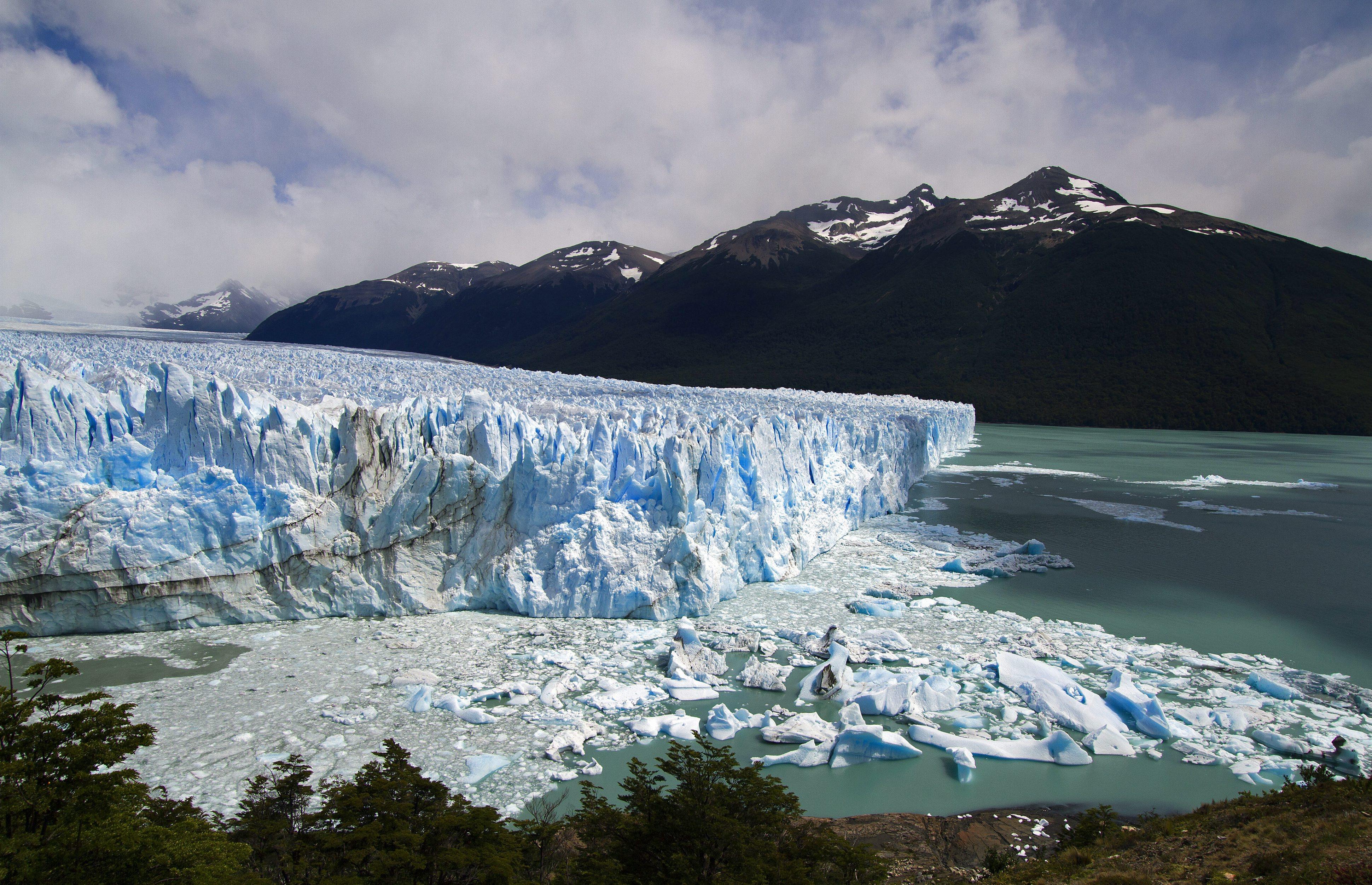 The Perito Moreno Glacier outside El Calafate, Argentina in 2011.