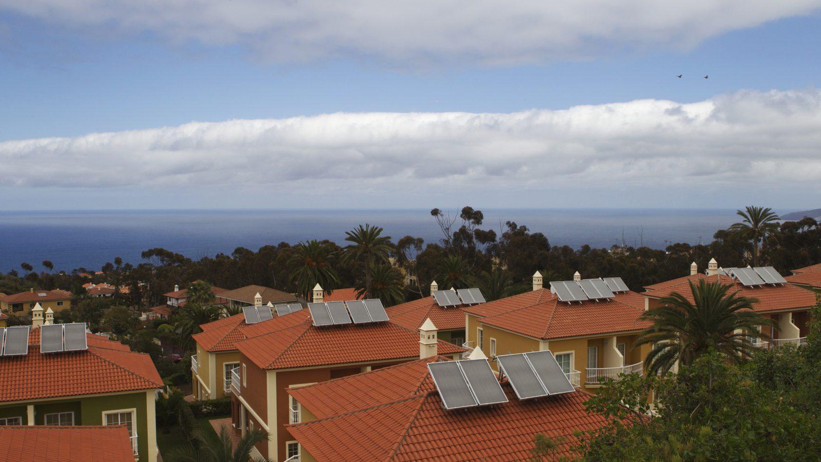 solar panels in Tenerife