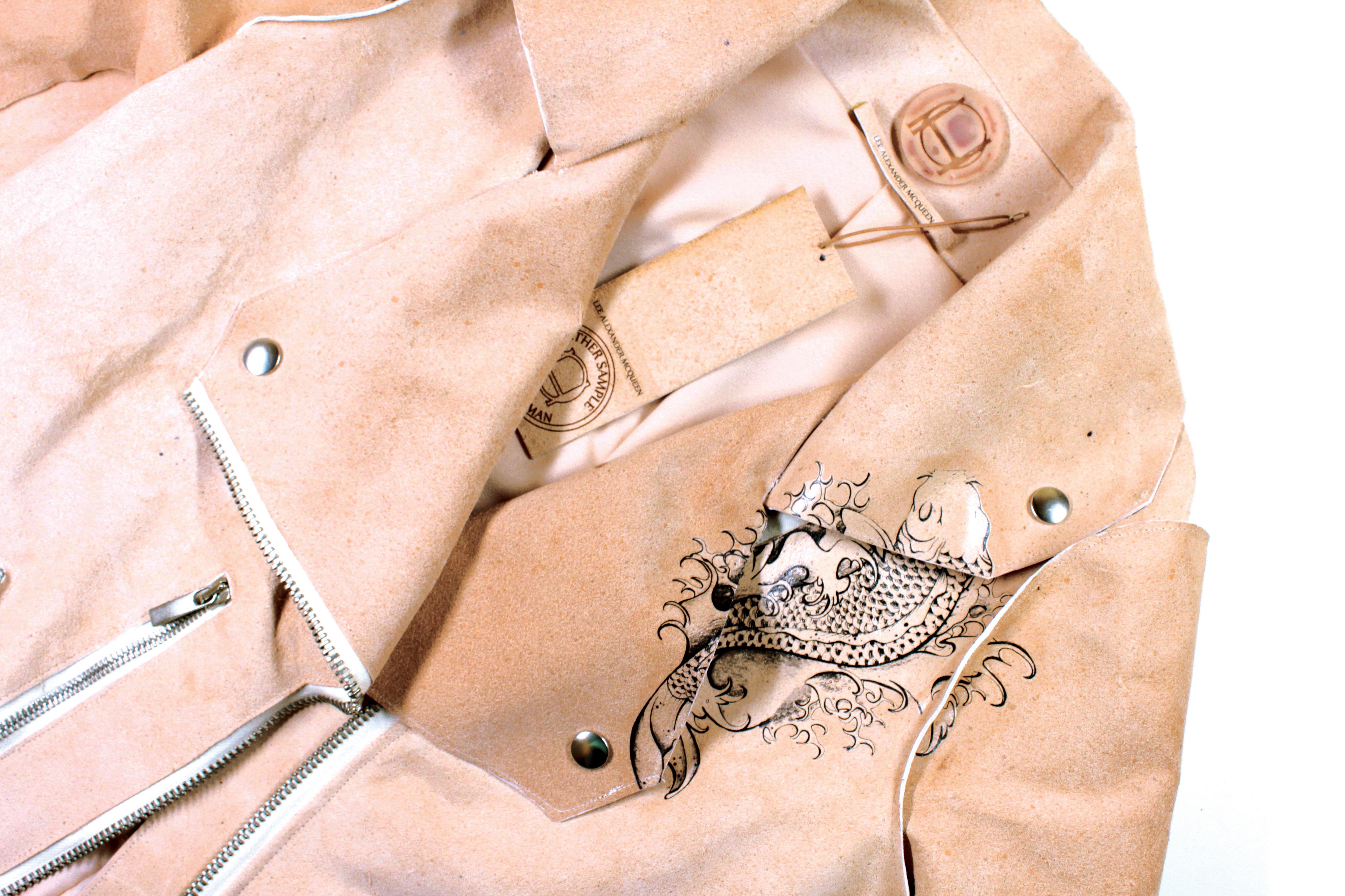 Gorjanc's McQueen jacket