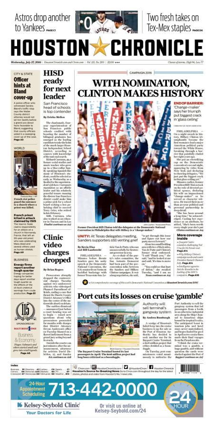 The Houston Chronicle