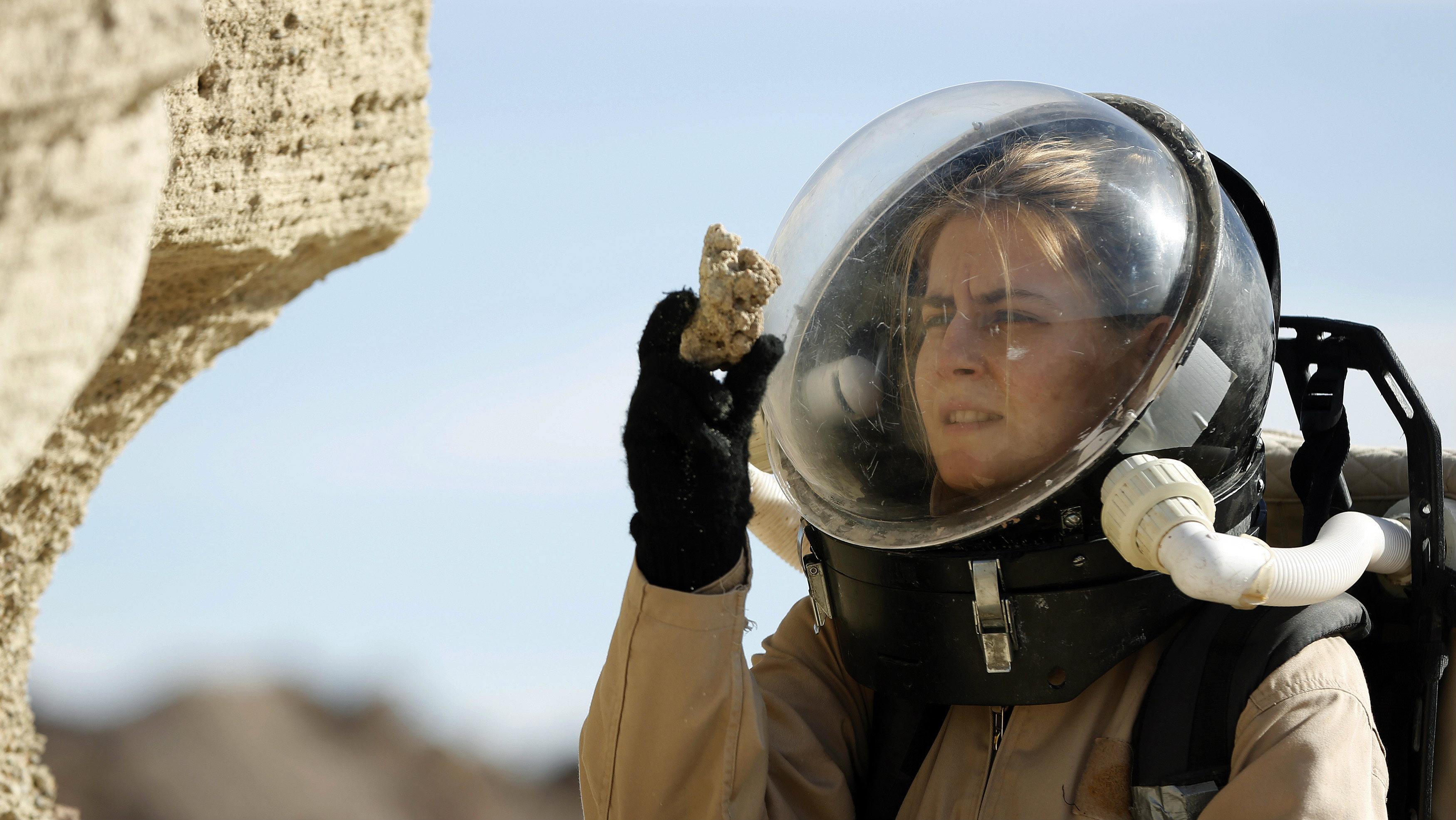 woman geologist