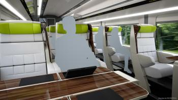 What the first class cars may look like.