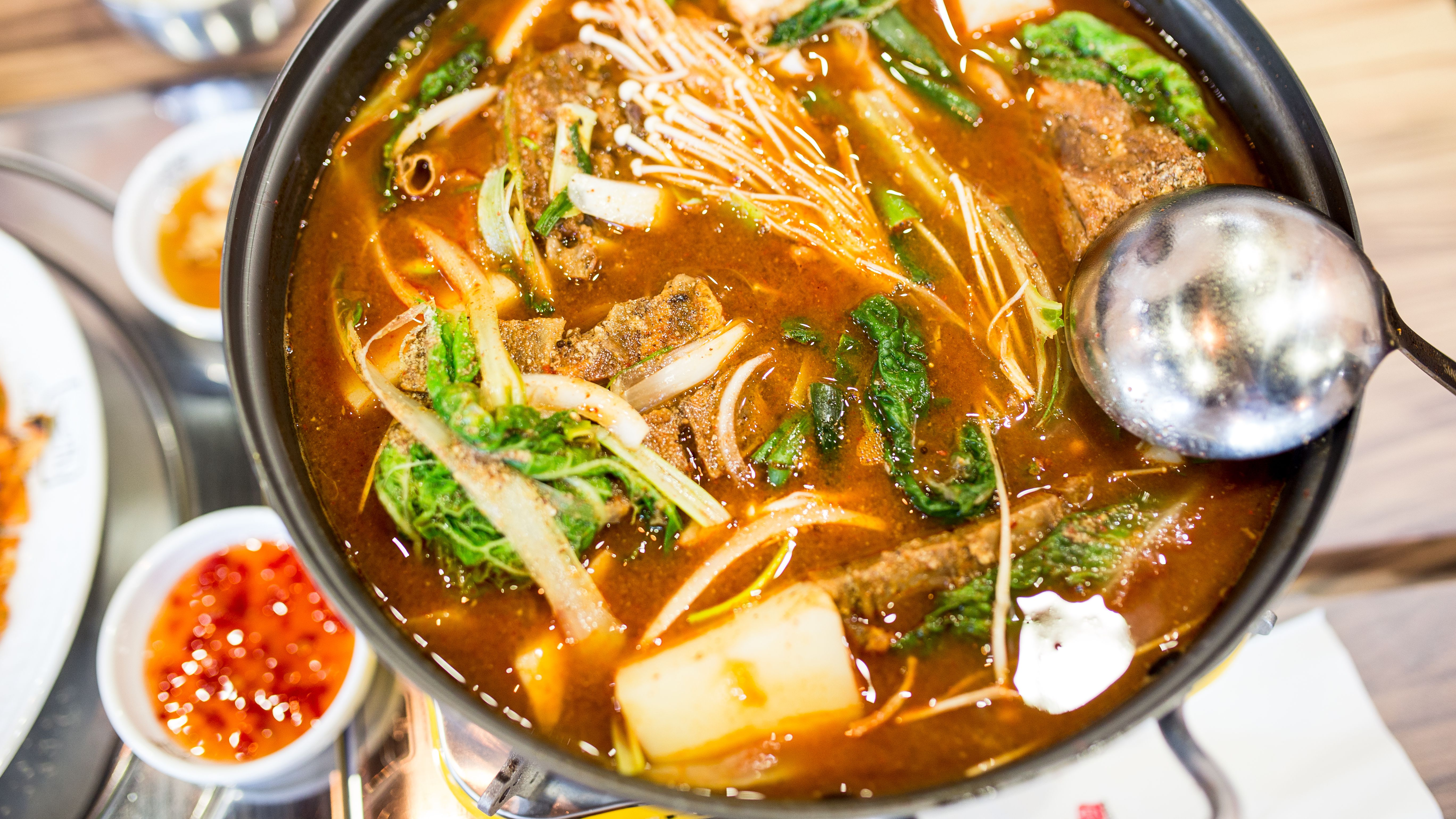 Your love of korean food kimchi and pad thai is a government