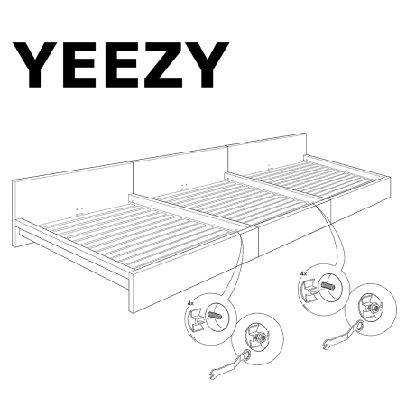 Kanye West wants to work with Ikea to make flatpack