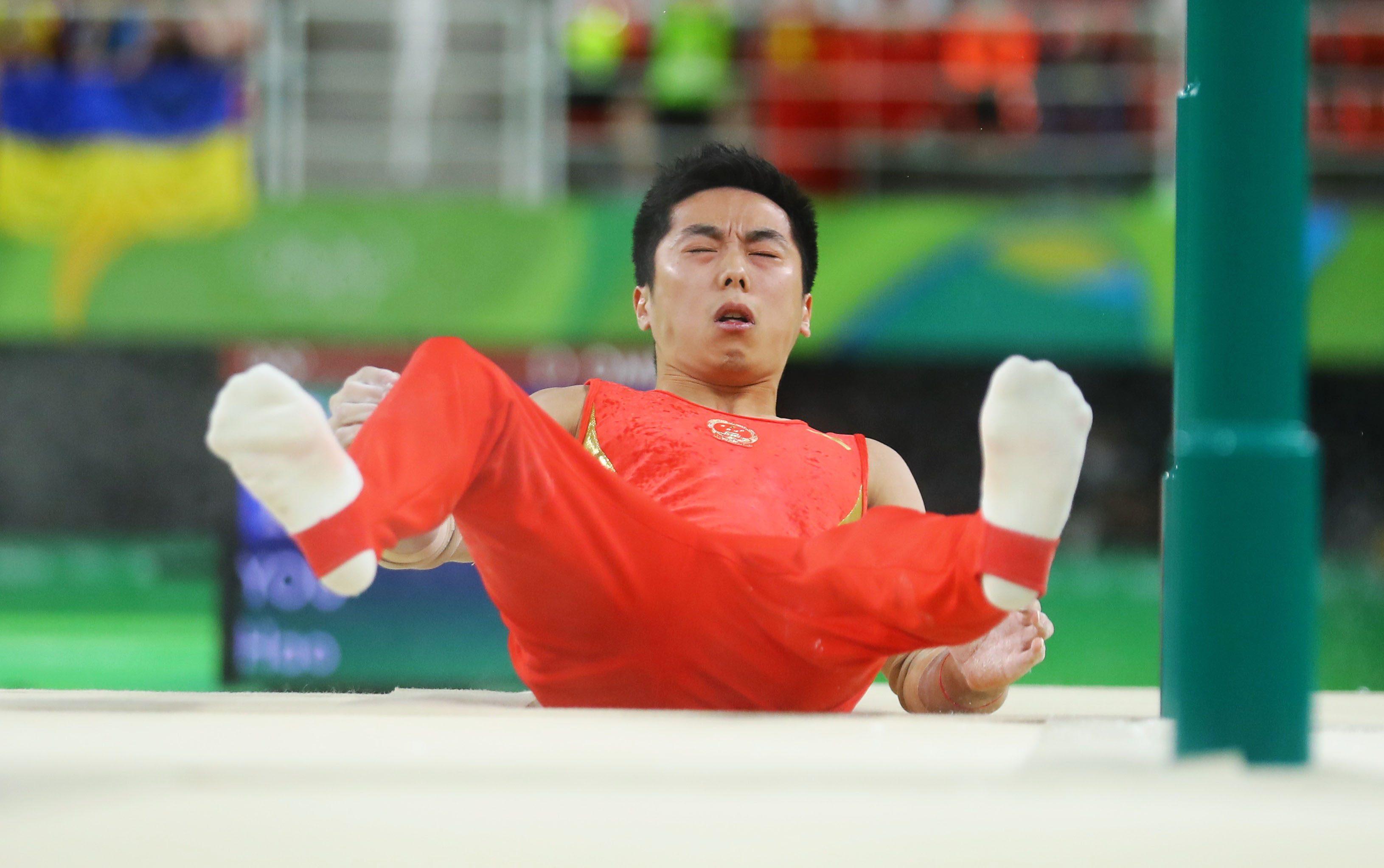2016 Rio Olympics in Artistic Gymnastics on Men's Parallel Bars Final