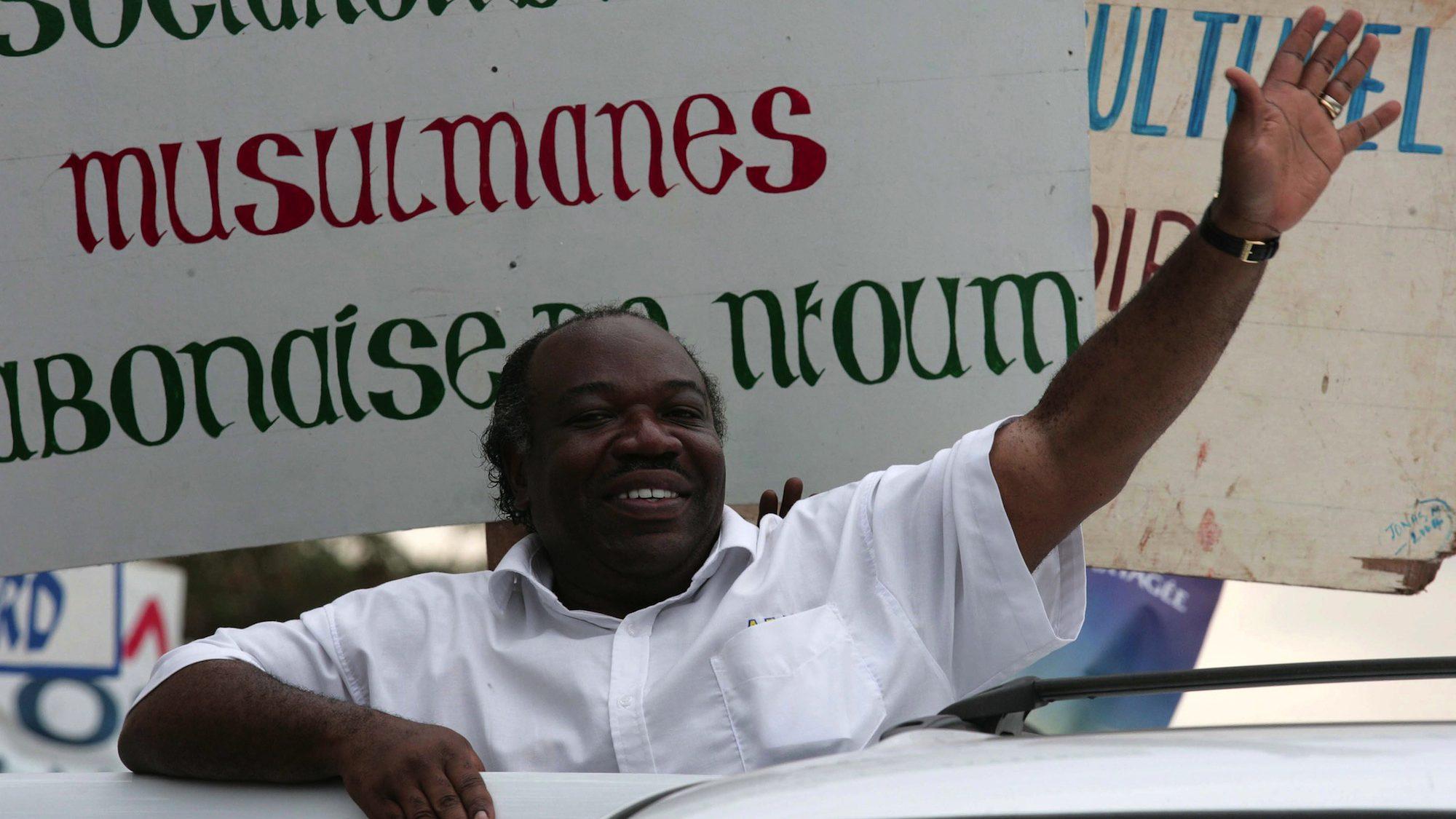 Post election violence over Ali Ben Bongo win in Gabon elections.