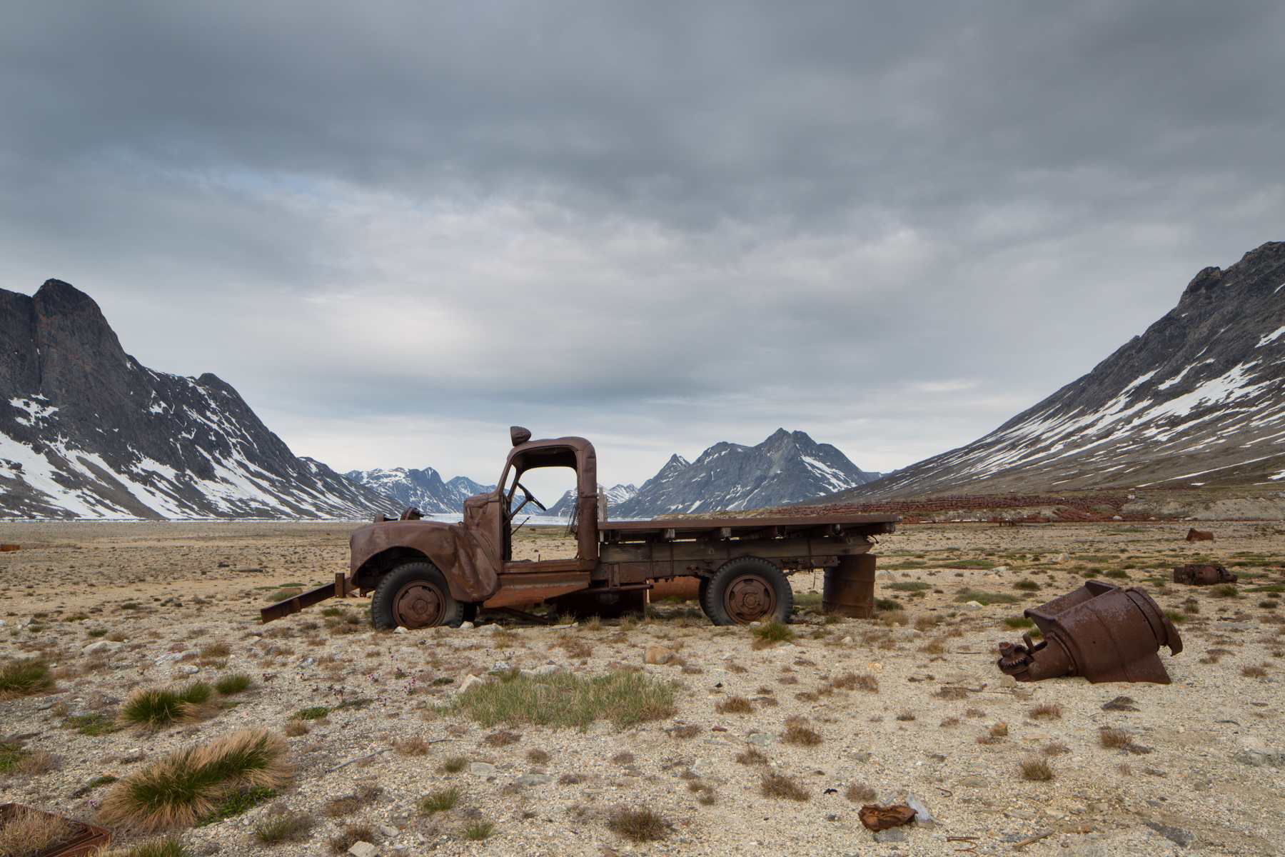Bluie East Two is an abandoned US Army air base in Greenland.